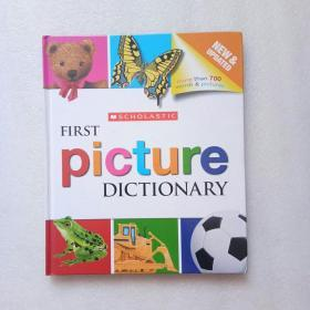 SCHOLASTIC FIRST Picture DICTIONARY(英文原版)精装