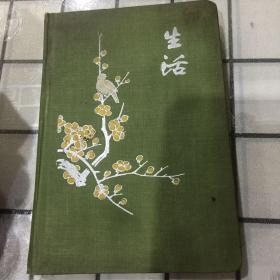 生活老笔记本(新,无笔记,插图漂亮)