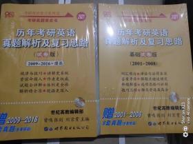 2021考研英语张剑黄皮书(2011-2020)