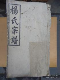 民国《杨氏家谱》(四知堂)21本