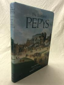 The Illustrated Pepys Extracts from the Diary    插图版佩皮斯日记 16开本 铜版纸印刷 英国图书俱乐部协会版