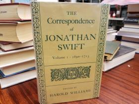 The Correspondence of Jonathan Swift, D.D. (Vol.I: 1690-1712)