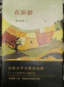 刘亮程签名钤印《在新疆》一版一印