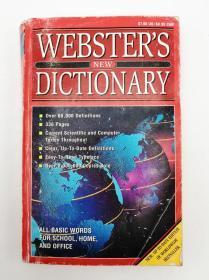Websters Dictionary 英文原版《韦伯斯特词典》