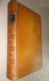 1836年The Worthies Of Yorkshire & Lancashire 小柯勒律治著名传记《英北群贤传》全小牛皮精装本 原品钢版画 配补精美插图 大开本