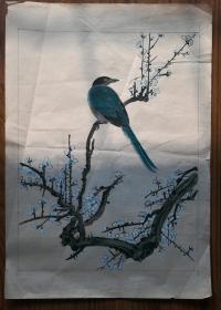 手绘真迹国画:无款20200117-12