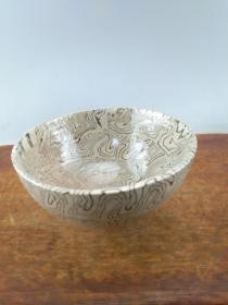 搅泥胎老瓷碗A9116..
