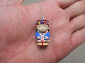 台湾 彩绘小玩偶