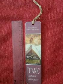 英文版书签 泰坦尼克号