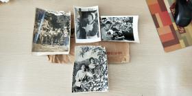 一组反映70年代末烟台各行各业的宣传老照片(共4张)分别是纺织女工,祖国的下一代,烟台的苹果熟了,农业学大寨