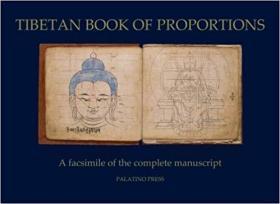 【现货包邮】Tibetan Book of Proportions 西藏绘画比例手册