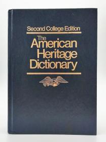 The American Heritage Dictionary (Second College Edition) 英文原版《美国传统词典(第二版)》
