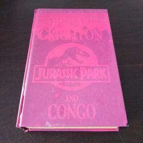 JURASSIC PARK, CONGO(英文原版,侏罗纪公园·刚果,16开硬精装,一厚册)