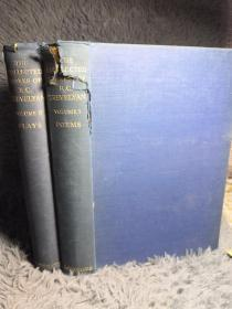 1939年  THE COLLECTED WORKS OF R.C. TREVELYAN  2本全合售  POEMS  PLAYS  25X17CM