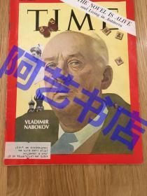 """【现货】时代周刊杂志 Time Magazine, 1969年,封面""""作家 - 纳博科夫"""",代表作《洛丽塔 》,珍贵史料!"""
