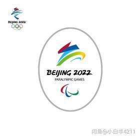椭圆银色徽章纪念礼物收藏北京2022冬残奥会会徽…颜色分类:银色