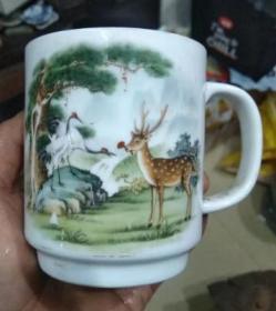 80年代,印花长春福禄杯