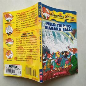 Geronimo Stilton #24: Field Trip to Niagara Falls  老鼠记者24:尼亚加拉大瀑布 英文原版
