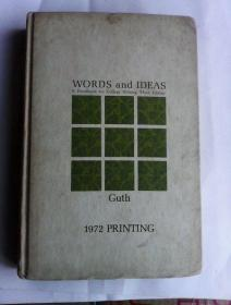 Words and Ideas: A Handbook for College Writing        英文原版   好纸