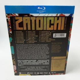 日本电影 座头市系列电影全集套装 BD蓝光碟高清1080P收藏版10碟