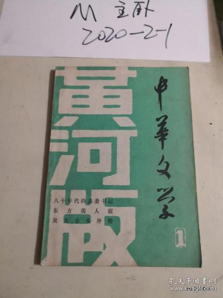 中华文学黄河版第1期