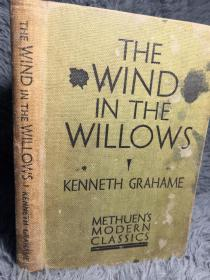 1937年  THE WIND IN THE WILLOWS BY KENNETH GRAHAME  19.5X13CM