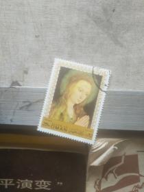 外国邮票 外国版观音图案