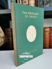 the merchant of venice 《威尼斯商人》shakespeare 莎士比亚经典戏剧 1909 年布面精装版