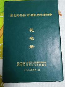 原在延庆县(市)插队的北京知青花名册