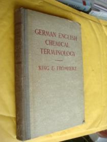GERMAN ENGLISH CHEMICAL TERMINOLOGY [德英化学术语]