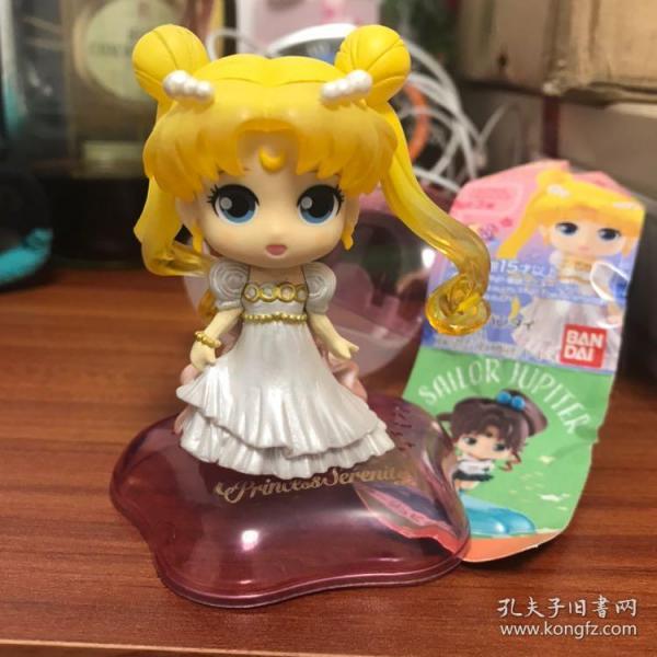 卡通动漫 美少女战士水手月亮TwinkleStatue第二弹 倩尼迪公主 Q版大头娃娃扭蛋摆件万代正版
