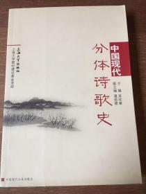 中国现代分体诗歌史