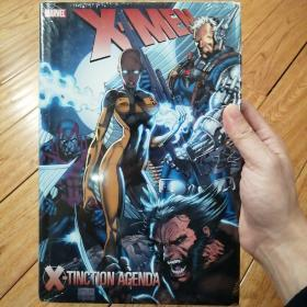 marvel x-men x-tinction agenda 英文原版精装塑封