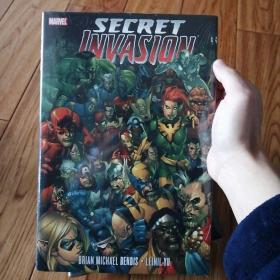 marvel secret invasion 英文原版精装塑封