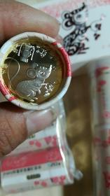 猪年,鼠年,庆祝国庆70周年,泰山纪念币