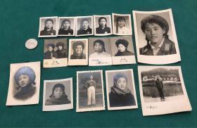 文革期间美女特色照片15枚(胸戴毛主席像章、红卫兵、军装照、韶山留念等)