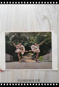 明信片:扇操 人民体育出版社