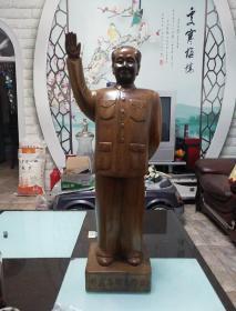 伟大领袖毛泽东雕像