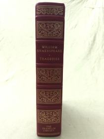 Franklin Library限量皮装本:William Shakespeare Six Tragedies 莎士比亚《悲剧六部》