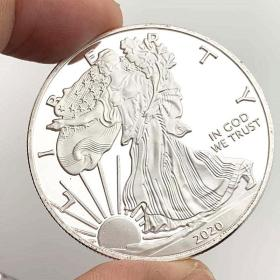 美国自由女神2020银币低于银价