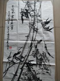 字画类>刘国卿画F87
