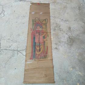 五六十年代画穆桂英