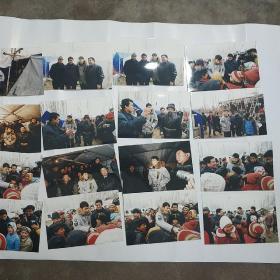 黎明慰问新疆巴楚灾区照片150枚