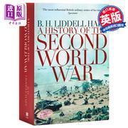 英文原版 A History of the Second World War 二戰歷史