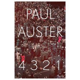 保罗·奥斯特:4321 英文原版 4 3 2 1 Paul Auster Faber & Faber