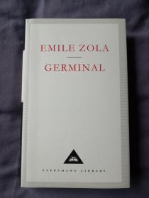 Germinal 萌芽 Emile Zola 爱弥尔·左拉 everymans library 人人文库 英文原版 布面精装 真正保证人人文库能够相同品相全网最低价;真正的全网最全卖家,私藏近300种