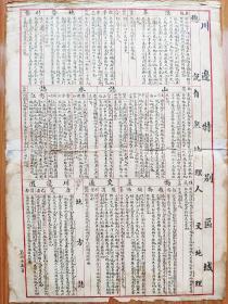 民国省区地理简介《川边特别区域》(西康)《热河、察哈尔、绥远》(三特别区域)