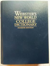 Websters New World College Dictionary, Fourth Edition (Book with CD-ROM)韦氏新世界大学辞典  英文原版 精装