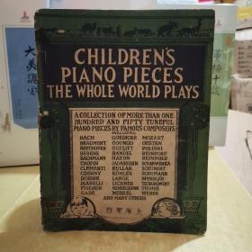 CHILDRENS  PIANO  PIECES  THE  WHOLE  WORLD  PLYS
