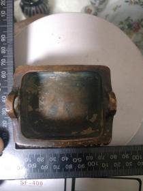 紫铜,老香炉一件,一方顶十圆,难得。